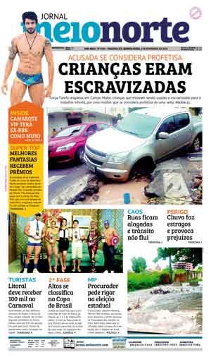 Jornal Meio Norte do dia 8-02-2018