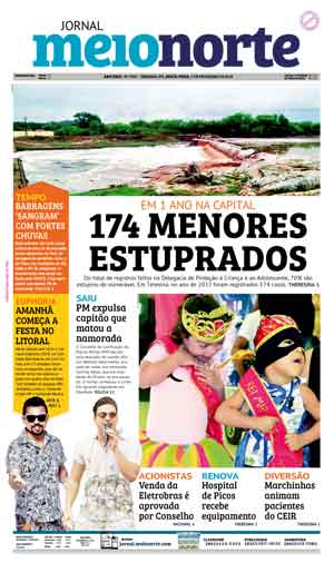 Jornal Meio Norte do dia 9-02-2018
