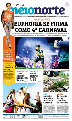 Jornal Meio Norte do dia 13-02-2018