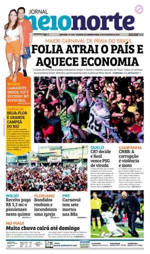 Jornal Meio Norte do dia 15-02-2018
