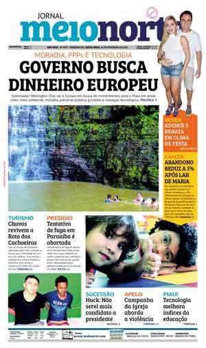 Jornal Meio Norte do dia 16-02-2018