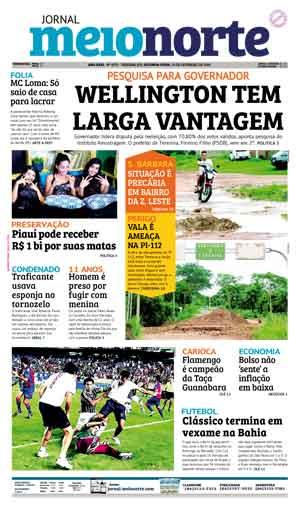 Jornal Meio Norte do dia 19-02-2018