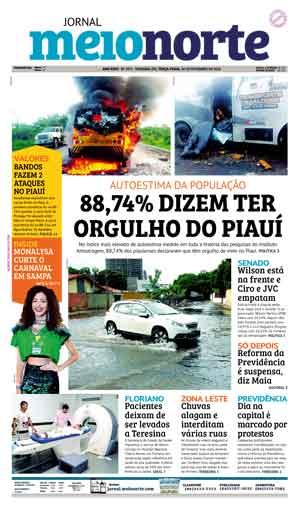 Jornal Meio Norte do dia 20-02-2018