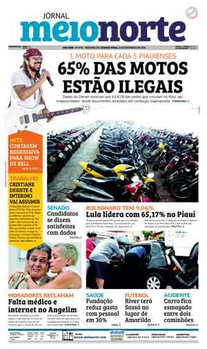 Jornal Meio Norte do dia 21-02-2018