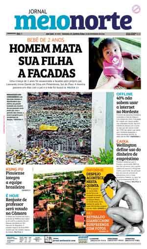 Jornal Meio Norte do dia 22-02-2018