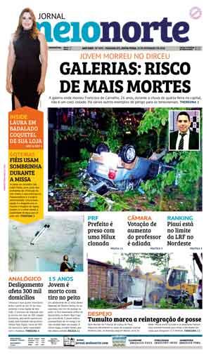Jornal Meio Norte do dia 23-02-2018