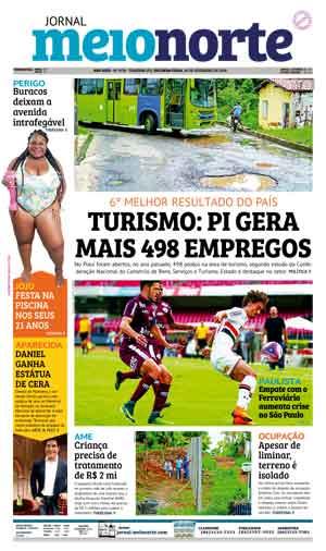 Jornal Meio Norte do dia 26-02-2018