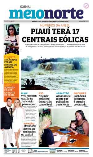Jornal Meio Norte do dia 27-02-2018