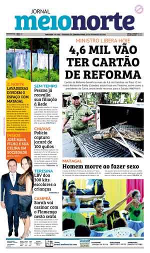 Jornal Meio Norte do dia 28-02-2018