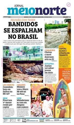 Jornal Meio Norte do dia 1-03-2018