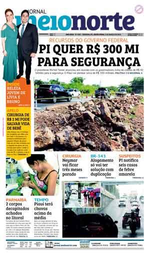 Jornal Meio Norte do dia 2-03-2018