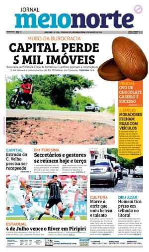 Jornal Meio Norte do dia 5-03-2018