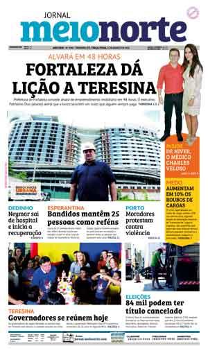 Jornal Meio Norte do dia 6-03-2018