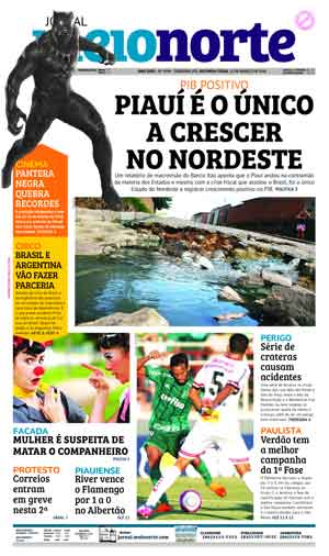 Jornal Meio Norte do dia 12-03-2018