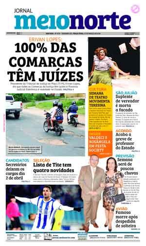 Jornal Meio Norte do dia 13-03-2018