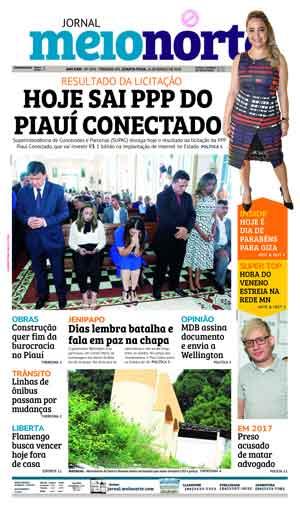 Jornal Meio Norte do dia 14-03-2018