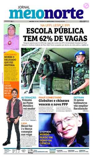 Jornal Meio Norte do dia 15-03-2018