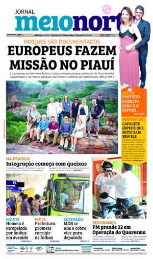 Jornal Meio Norte do dia 20-03-2018