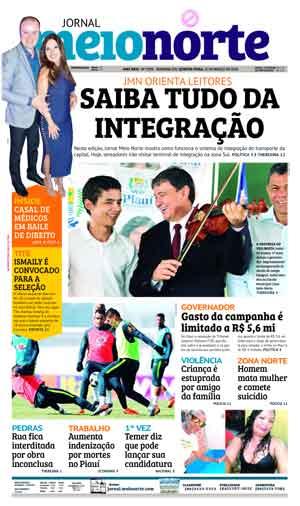 Jornal Meio Norte do dia 21-03-2018