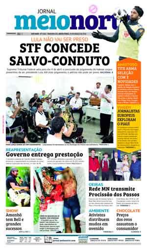 Jornal Meio Norte do dia 23-03-2018