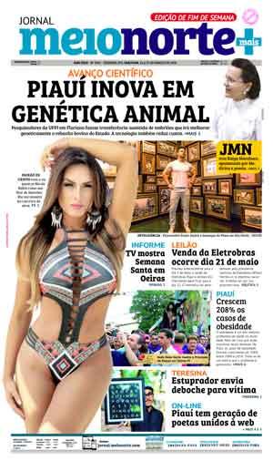 Jornal Meio Norte do dia 24-03-2018