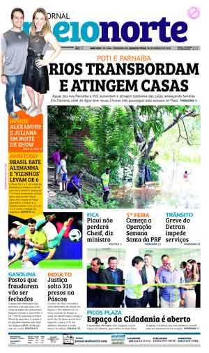 Jornal Meio Norte do dia 28-03-2018
