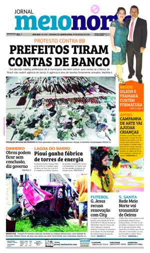 Jornal Meio Norte do dia 29-03-2018