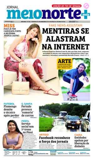Jornal Meio Norte do dia 30-03-2018