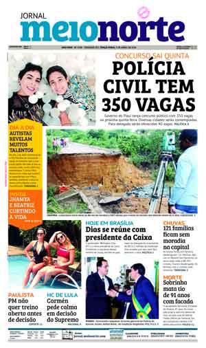 Jornal Meio Norte do dia 3-04-2018