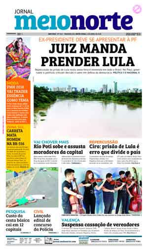 Jornal Meio Norte do dia 6-04-2018