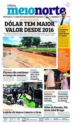 Jornal Meio Norte do dia 10-04-2018