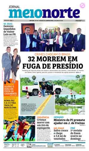 Jornal Meio Norte do dia 11-04-2018
