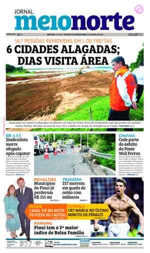 Jornal Meio Norte do dia 12-04-2018