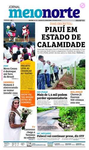 Jornal Meio Norte do dia 13-04-2018