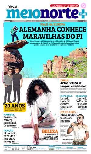 Jornal Meio Norte do dia 14-04-2018