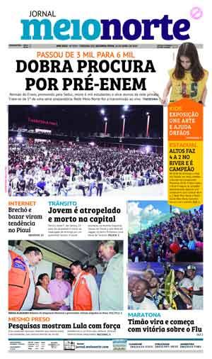 Jornal Meio Norte do dia 16-04-2018