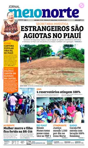 Jornal Meio Norte do dia 17-04-2018