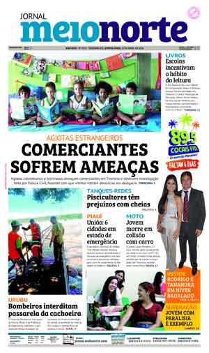 Jornal Meio Norte do dia 19-04-2018