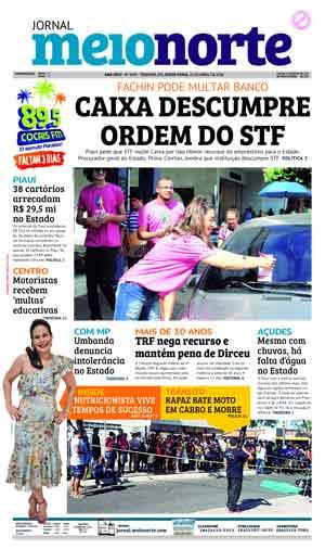 Jornal Meio Norte do dia 20-04-2018