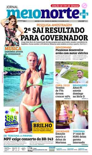 Jornal Meio Norte do dia 21-04-2018