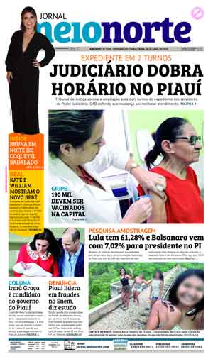 Jornal Meio Norte do dia 24-04-2018