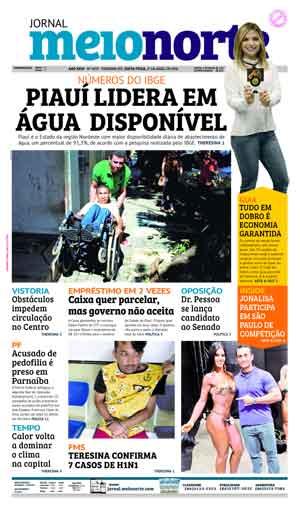 Jornal Meio Norte do dia 27-04-2018