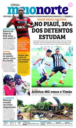 Jornal Meio Norte do dia 30-04-2018