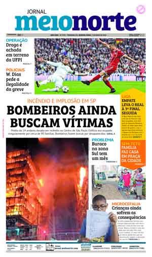 Jornal Meio Norte do dia 2-05-2018