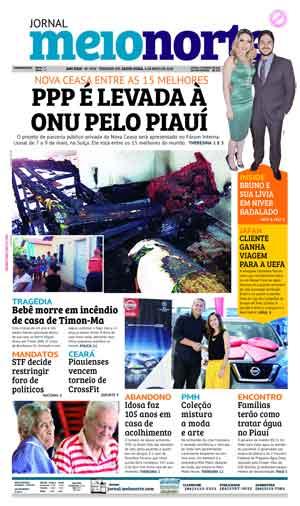 Jornal Meio Norte do dia 4-05-2018