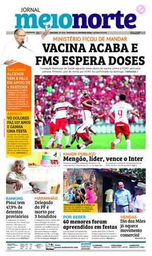 Jornal Meio Norte do dia 7-05-2018