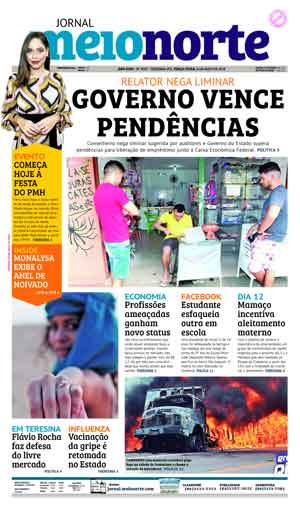 Jornal Meio Norte do dia 8-05-2018