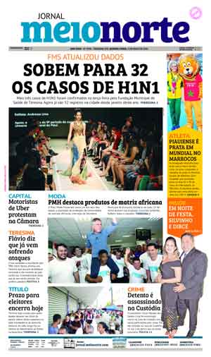 Jornal Meio Norte do dia 9-05-2018