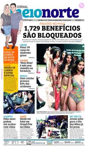 Jornal Meio Norte do dia 10-05-2018