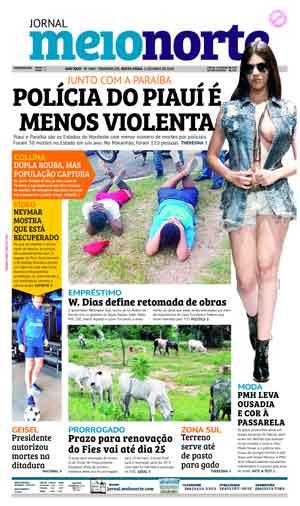 Jornal Meio Norte do dia 11-05-2018